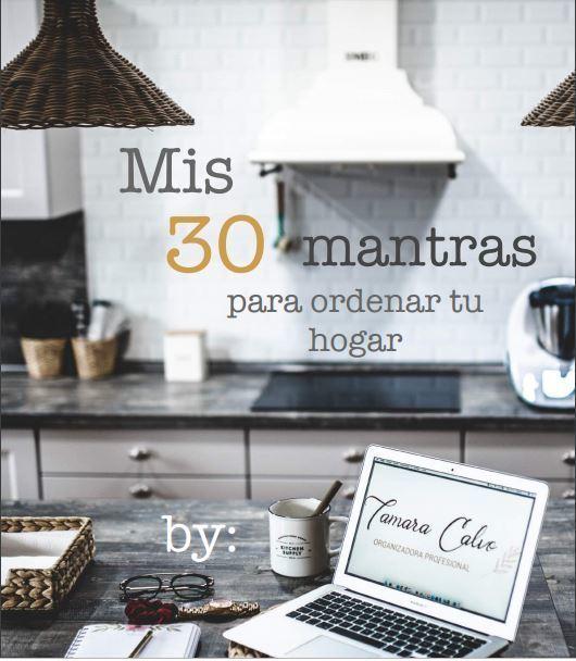 Los 30 mantras para conseguir el orden en el hogar de Tamara Calvo